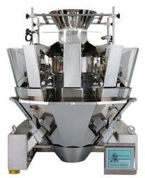 Multihead weigher machine for automatic weighing 10 head