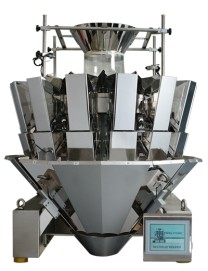 Multi head weigher machine for automated weighing 14 head