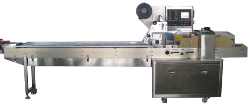 Flow Wrapper Machine Used In food Production